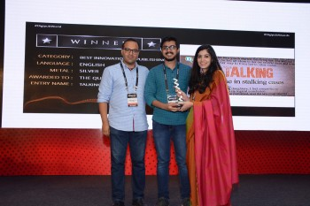 Best Innovation in Publishing English Silver The Quint